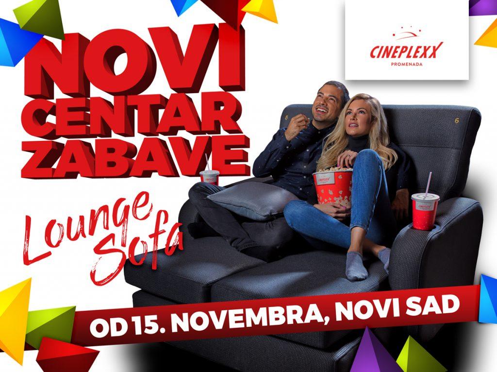 WEB Cineplexx Promenada Lounge-Sofa