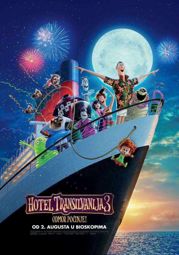 Hotel Transilvanija 3 -plakat